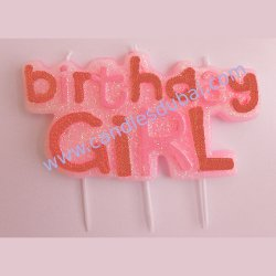 Birthday Candles for Girl or Boy