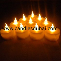 LED Tealight Candles.