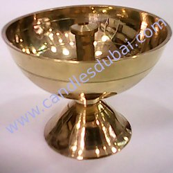 BRASS LAMP CANDLES