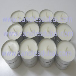 4 Hours Tealight Plain Wax Candles