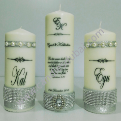 Wedding Candles - Unity and Memory Candles